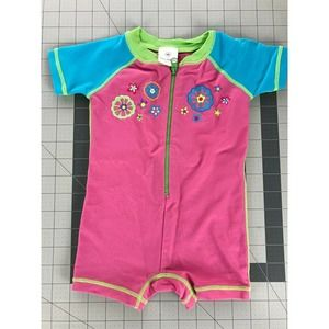 Hanna Andersson 60 3-6 months Pink Rash Guard